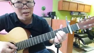 Hướng dẫn intro và đệm guitar bài.  Gõ Cửa Trái Tim. Rất cần cho người muốn nâng cao kĩ thuật .