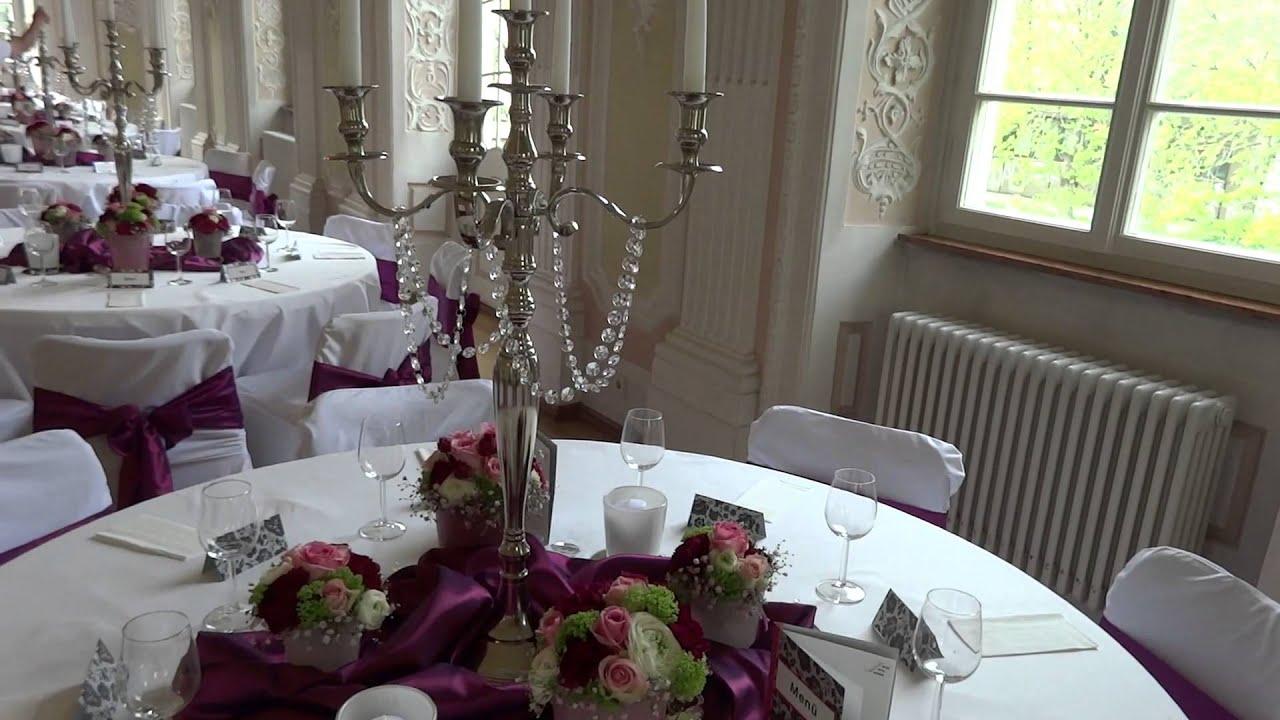 Deko  Design GmbH  Dekoration Hochzeit Schiesshaus Heilbronn  YouTube