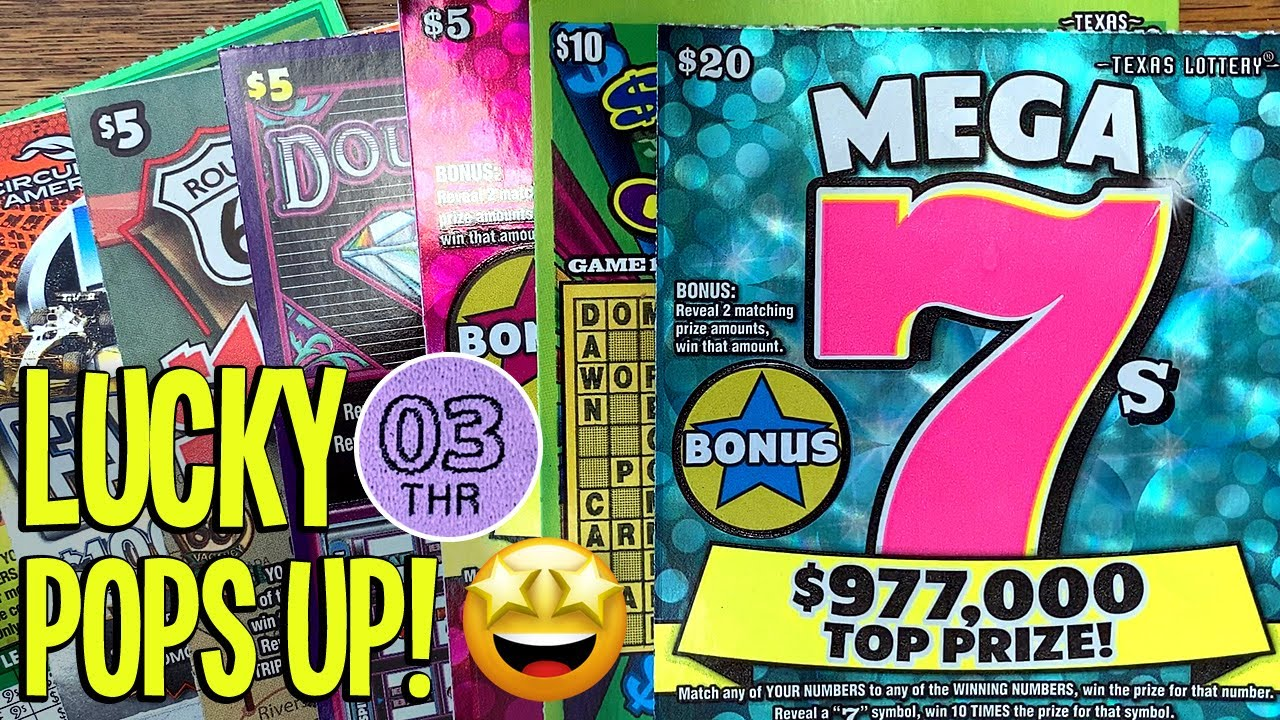 💰 NEW LUCKY 03! $20 Mega 7s + Lucky 7s + 50X Fast Cash $80/TICKETS! 🤑 Fixin To Scratch