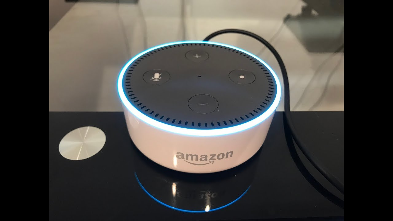 Hook up alexa to speakers
