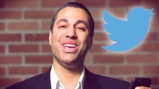"""FCC's Ajit Pai Laughs Off Criticism with Cringeworthy """"Mean Tweets"""" Sketch"""