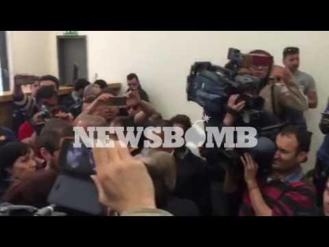 newsbomb.gr: Πλειστηριασμοί: Ένταση στο Ειρηνοδικείο Αθηνών