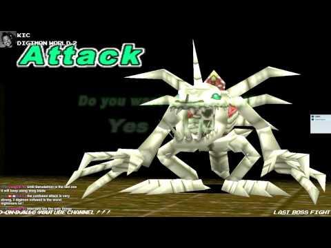 Digimon World 2 - Skullgreymon [Boss]
