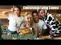 #BattleRaina Boo's Philly Cheesesteak Eating Contest | Girls Vs Boys | RainaisCrazy