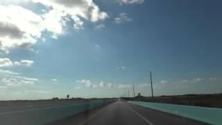 20141029 フロリダキーズ Florida Keys 1:U S Route 1:S Dixie Hwy:フロリダシティ Florida City →キーラーゴ Key Largo