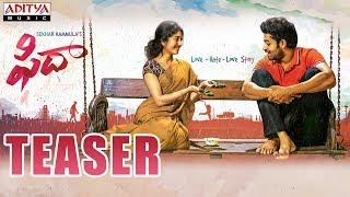 Fidaa Teaser || Varun Tej, Sai Pallavi || Sekhar Kammula || Dil Raju || Shakti Kanth