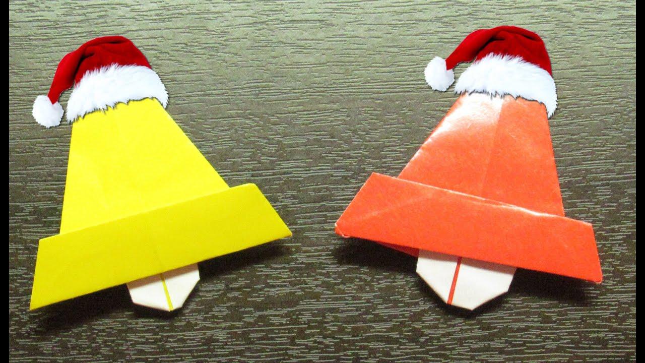 plegado de papel para navidad