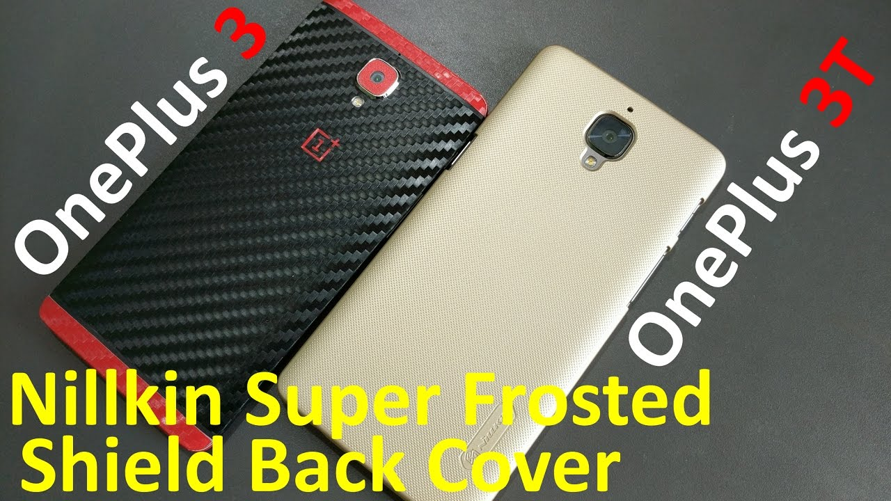 half off fc7b2 d9f33 Nillkin super frosted shield back cover for OnePlus 3T and Oneplus 3 (Gold  Color, Really Nice)