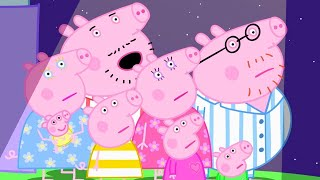 Peppa Pig Full Episodes | The Noisy Night at Peppa Pig's Cousin Chloe's House | Kids Videos