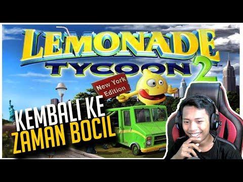 GAME LEMONADE TYCOON 2 INDONESIA - BERMAIN GAME TYCOON TERBAIK !!