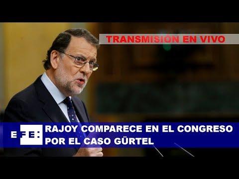 Rajoy comparece en el Congreso por el caso Gürtel