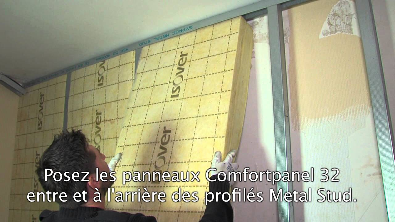 Isoler les murs ext rieurs par l 39 int rieur youtube - Comment isoler phoniquement un mur ...