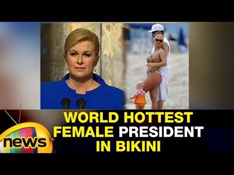 World  Female President Spotted in Beach | Pics Goes Trending | Mango News
