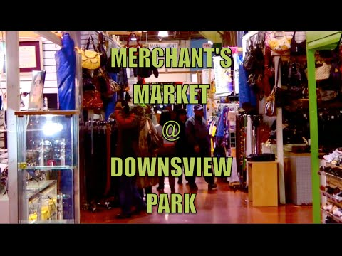 Downsview Park Merchant's Market  & Farmer's Market (subway ride)