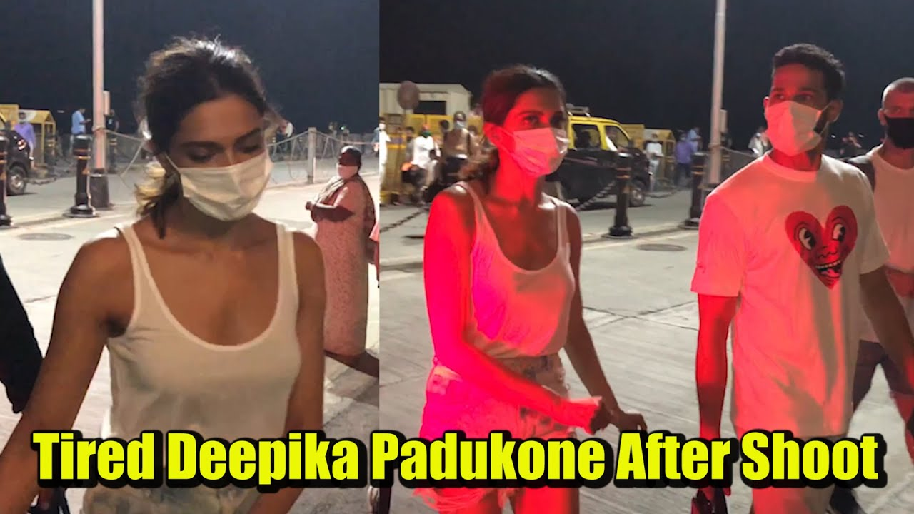 Deepika Padukone Gets EXTREMELY TIRED After Shooting For Shakun Batra's Film With SIDDHANT CHATURVED