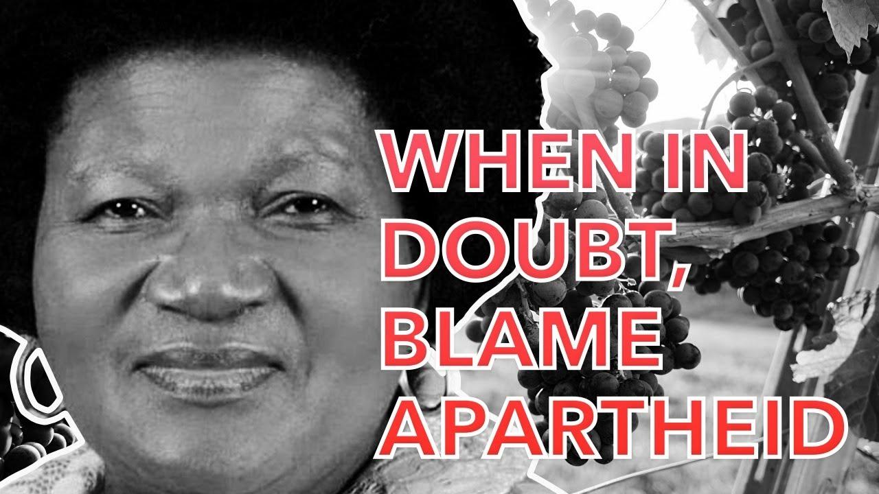 When In Doubt, Blame Apartheid.