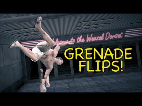 GTA 5: GRENADE FLIPS! [MADNESS]