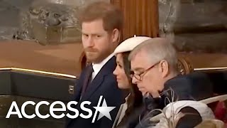 Prince Harry Gives Meghan Markle The Side-Eye As She Giggles Over Liam Payne! | Access