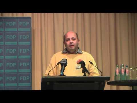 FDP-Basis konfrontiert Guido Westerwelle