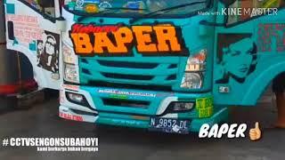 Video truk oleng part 2