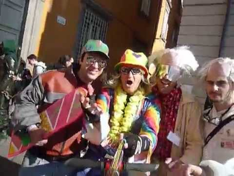 Il Grullo vlog cosplay del mitico film Ritorno al futuro Back to the future at Lucca Comics 2015