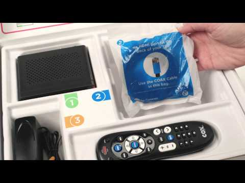 Cox Communications | How To Install a Cox TV Mini Box to Go All Digital