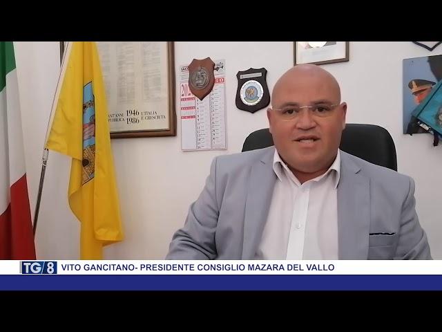 Vito Gancitano - Presidente del consiglio Mazara del Vallo
