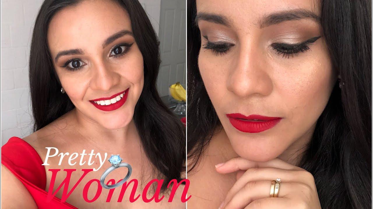 La Boda De Mi Mejor Amiga 3 Maquillaje Para Vestido Rojo Makeup Rockz