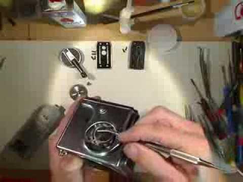 Sticky shutter on HASSELBLAD 500 C motion lapse film