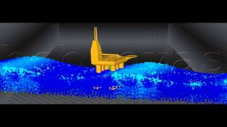 Simulation of an Oil Platform