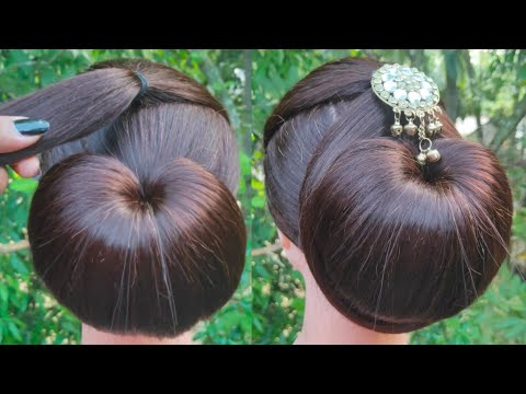 New Latest Juda Hairstyle With Clutcher    Everyday Girls Hairstyle    Easy Juda Hairstyle    thumbnail