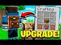 How to UPGRADE CHESTS in Minecraft Pocket Edition!