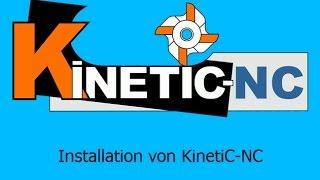Kinetic NC - Installation / 1.6 Mhz CNC Steuerungssoftware / Frässoftware