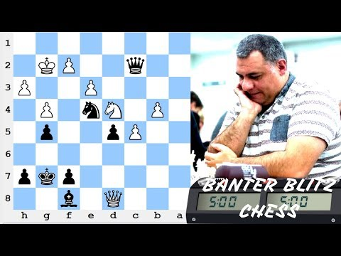 ICC Kingscrusher Banter Blitz - 4th August 2017 - Sponsored by the Internet Chess Club (ICC)