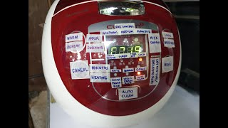Cuchen Rice Pressure Cooker