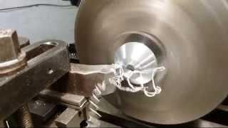 cnc lathe with homemade cnc milling machine