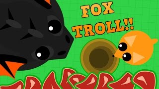 MOPE.IO BLACK DRAGON FOX TROLL!! // Funniest Moment in Mope.io History