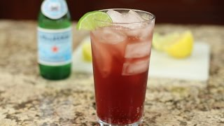 Refreshing Healthy Shirley Temple With Homemade Pomegranate Juice