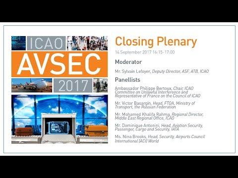 #AVSEC2017: Closing Plenary