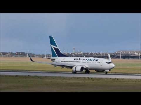 Plane Spotting at Calgary International Airport