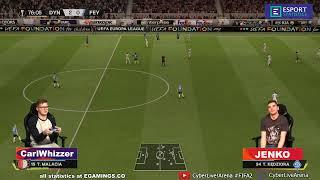 2020.03.11 ► Cyber Europa League ► Dynamo Kyiv (CarlWhizzer) - Feyenoord (Jenko)