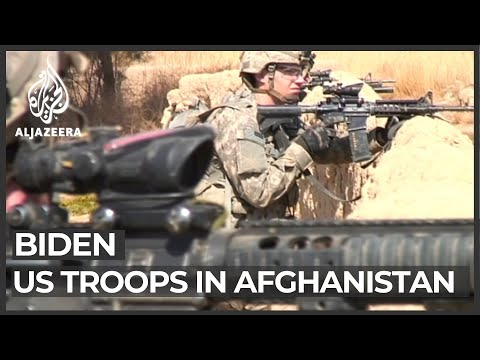 Biden says 'tough' to meet May 1 Afghanistan withdrawal deadline