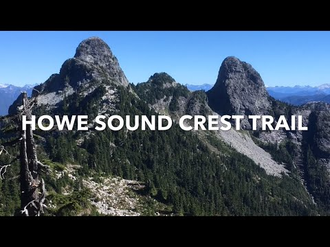 Howe Sound Crest Trail - a magnificent day hike from Cypress Bowl to Porteau Cove