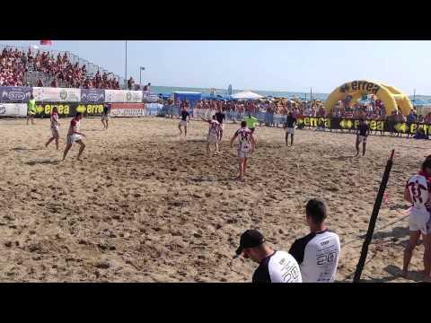 Tonga V France (Beach Rugby 2013)
