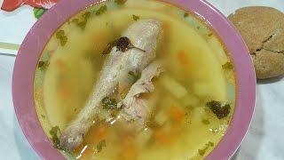 Как сварить вкусный гороховый суп на курином бульоне Pea soup