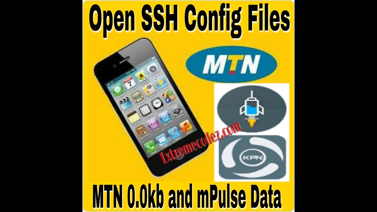 How to Create/Open SSH Config File For MTN 0 0kb and mPulse