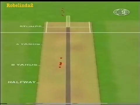 The most perfect over of fast bowling you will ever see- the famous over from McGrath!