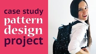 How To Design Handbags and Backpacks Using Vector Repeat Patterns - Hessa Bags Case Study: