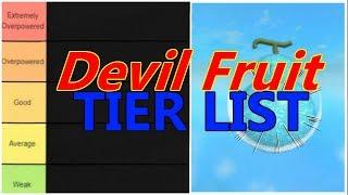 [OPL] ONE PIECE LEGENDARY | DEVIL FRUIT TIER LIST | ROBLOX ONE PIECE GAME| Bapeboi