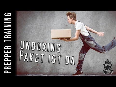 Prepper UNBOXING | Danke Moin für das Paket | German HD 1080p